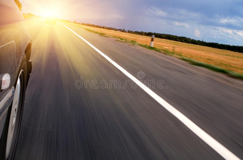 Download Speeding Towards Sun stock image. Image of beautiful - 10633081