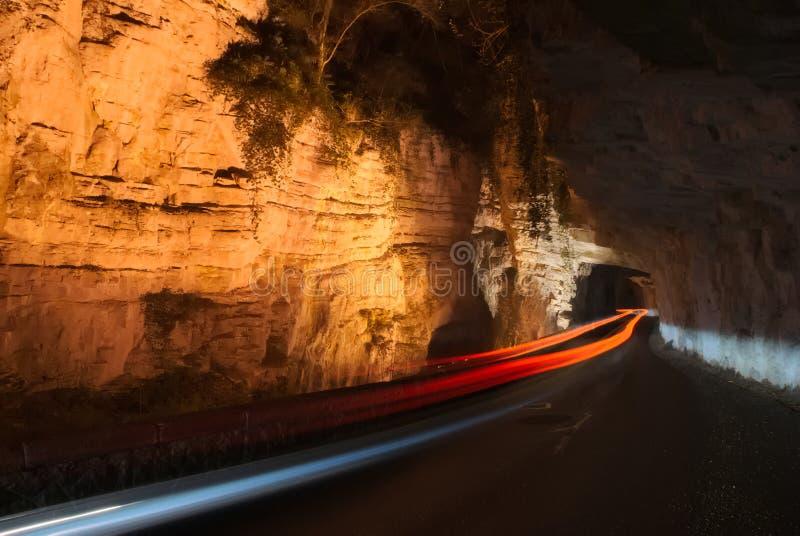 Speedlight en el barranco foto de archivo libre de regalías
