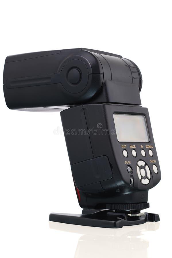 Speedlight instantâneo da câmera.