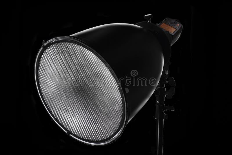 Speedlite en reflector stock foto's