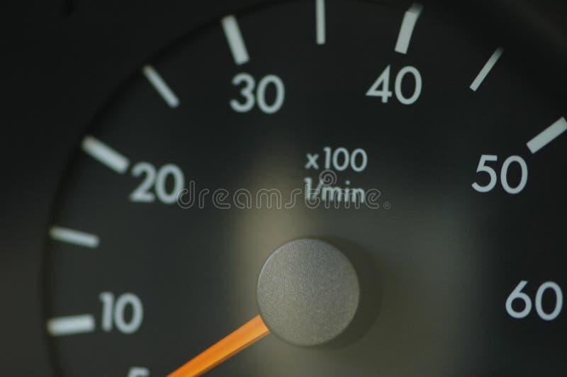 Speedmeter fotografie stock libere da diritti