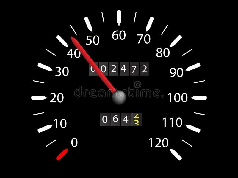 Speedo vector illustratie
