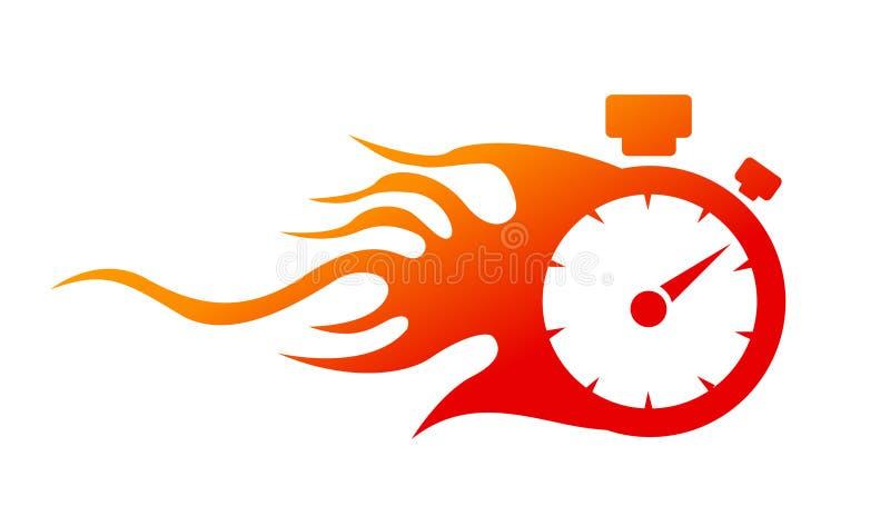 speedometer illustration stock