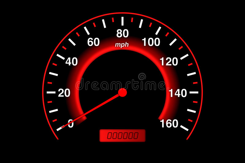 Download Speedometer stock illustration. Image of speedometer, measure - 1119425