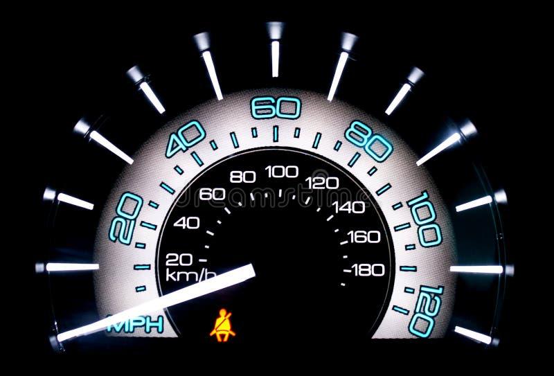 speedometer royaltyfri foto