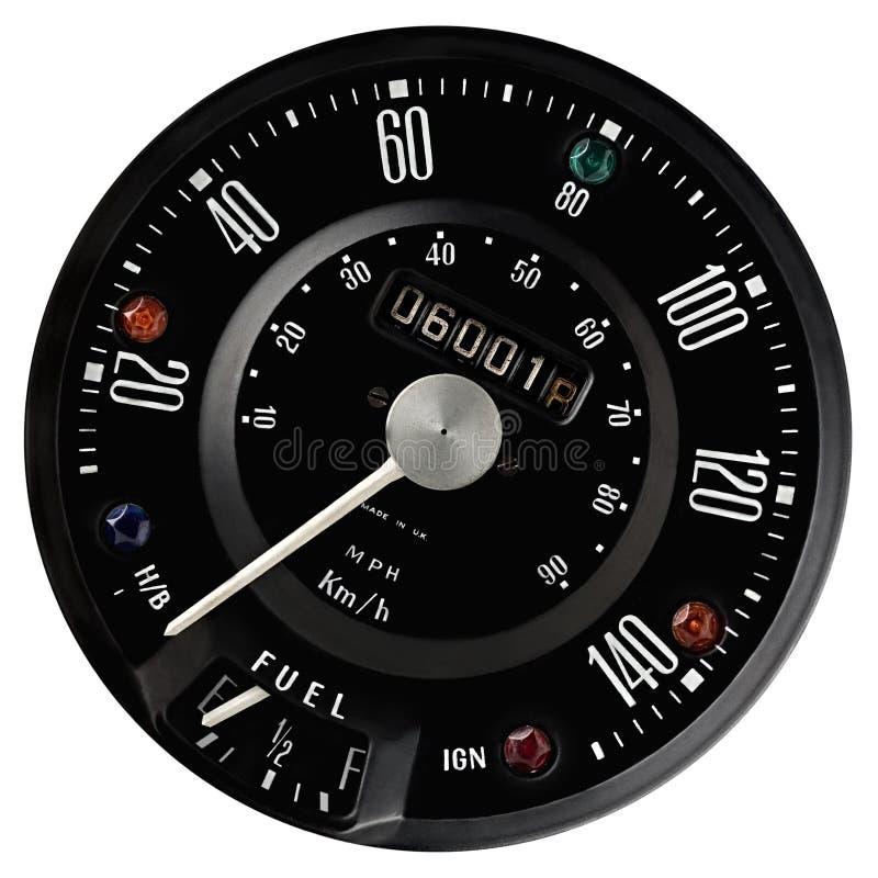 speedometer στοκ φωτογραφία