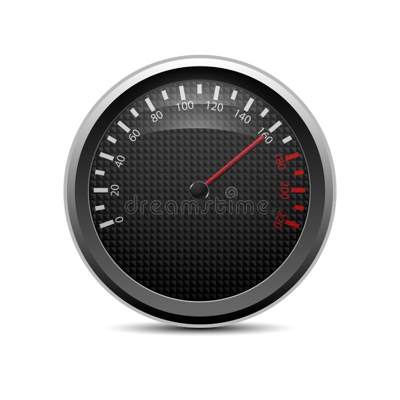 Speedometer. On a white background, eps10 royalty free illustration
