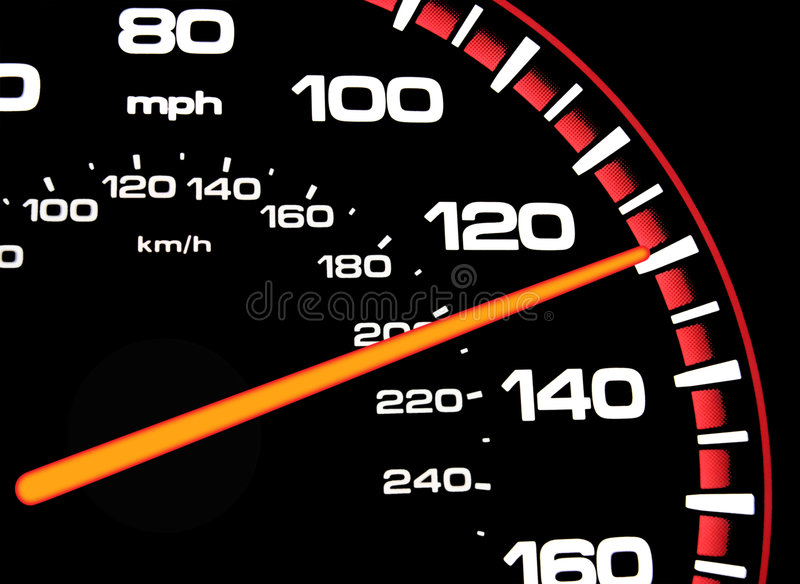 Speedometer stock photography