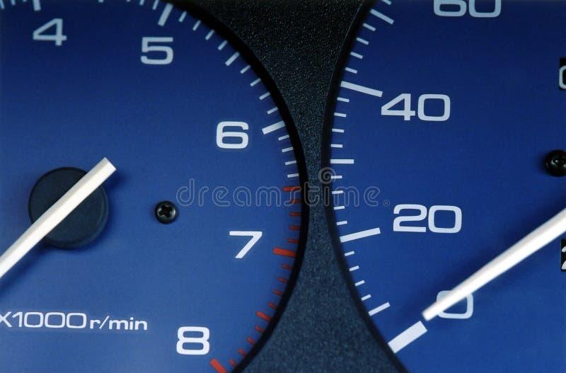 speedometer arkivfoton