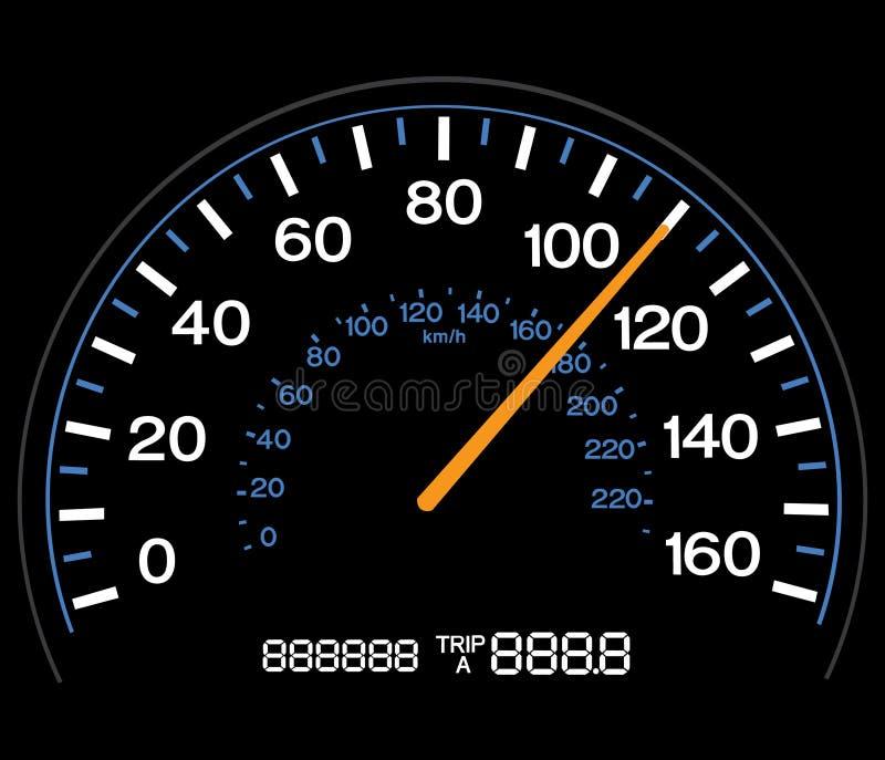 speedometer διανυσματική απεικόνιση