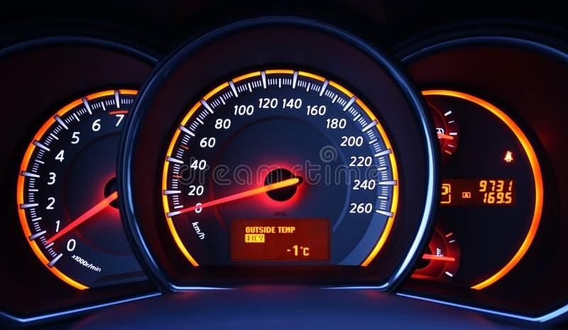 Download Speedometer stock photo. Image of speed, measurement, lighting - 8840836
