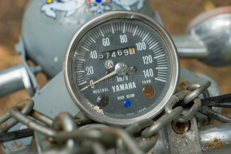 Classic Bike Speedometer Stock Images - Download 286 Royalty