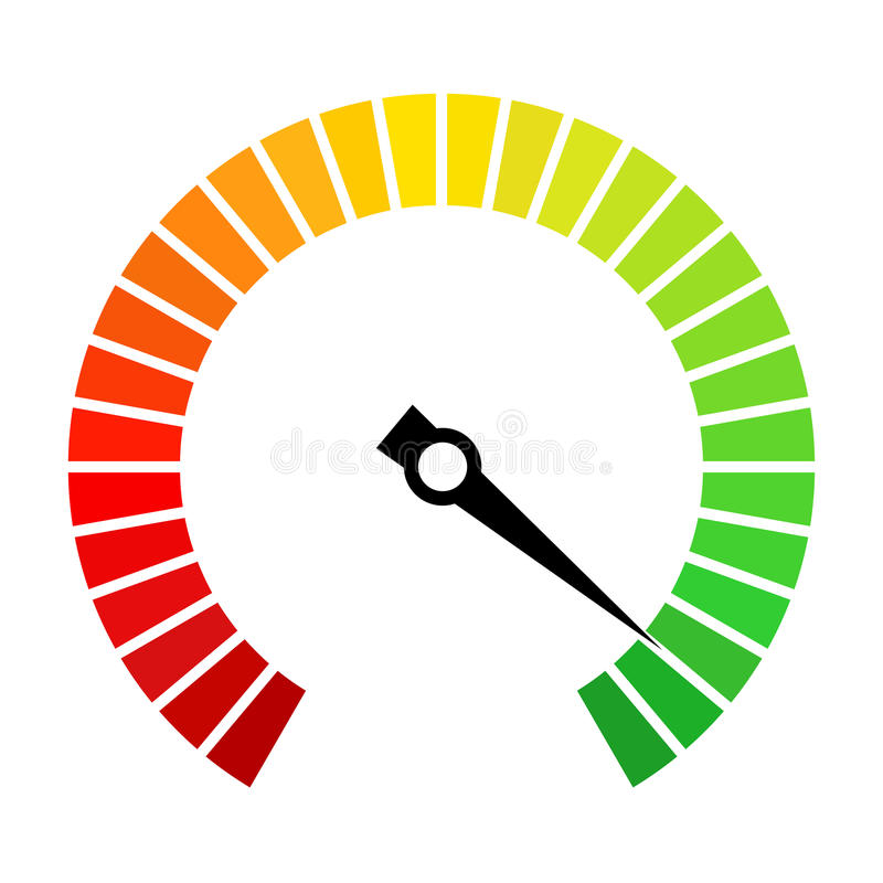 speedometer dial vector icon stock vector illustration of good rh dreamstime com speedometer vector eps speedometer vector or scalar