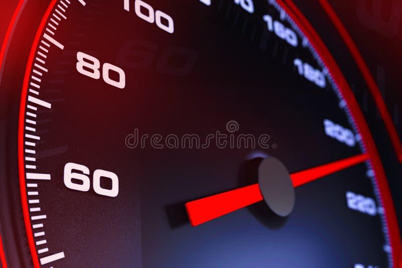 Speedometer0001 διανυσματική απεικόνιση