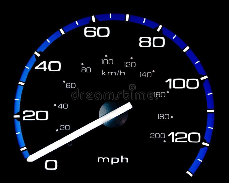 speedometermedel arkivbild