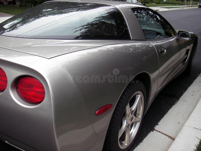 Speedster argenté images stock