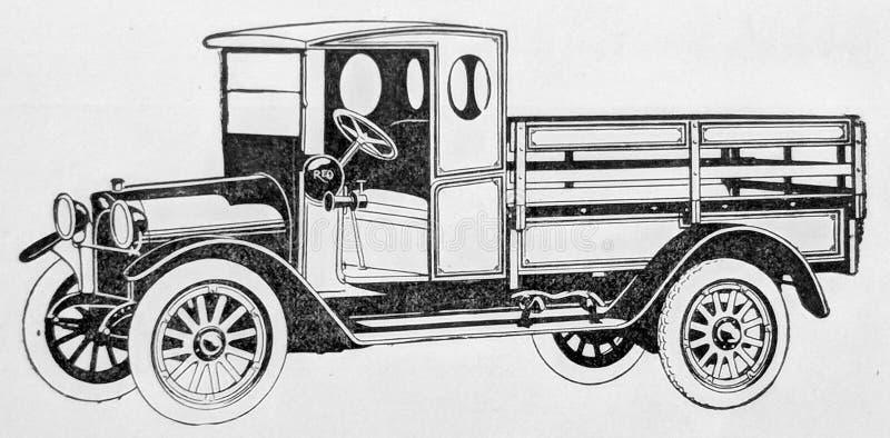 Speedwagon 1921 immagini stock libere da diritti