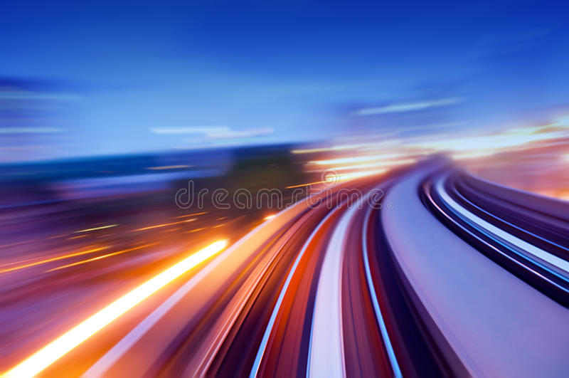 Download Speedway stock image. Image of light, flyover, cars, curve - 10421755