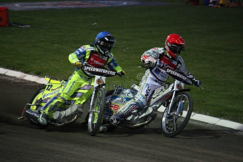Speedway Grand Prix in Prague stock images