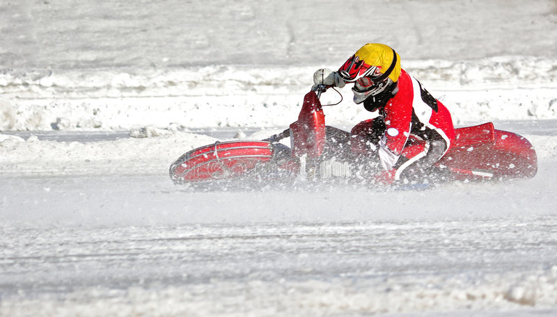 Speedwaybaan royalty-vrije stock foto