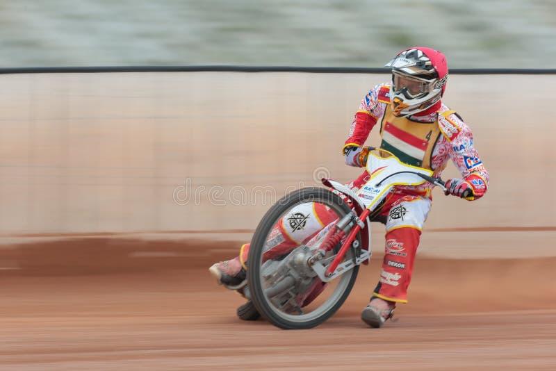 Speedwaybaanoem 2013 stock foto's