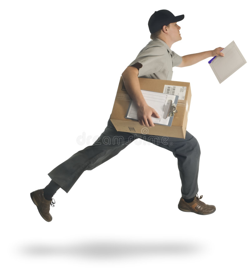 Speedy Delivery royalty free stock images