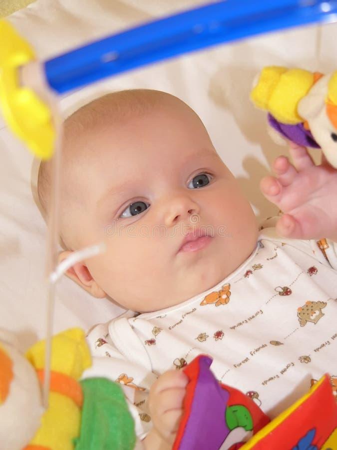 Speel baby stock foto