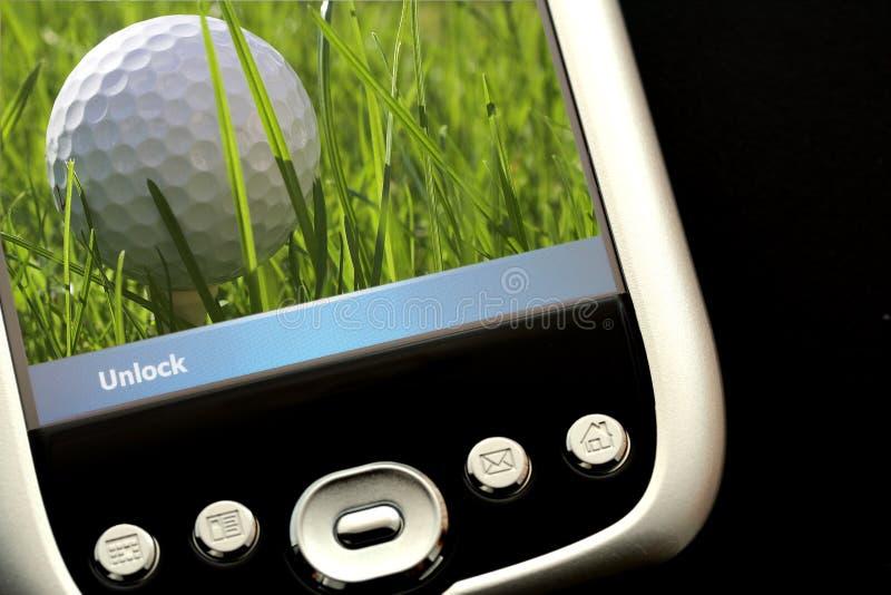 Speel Golf stock afbeeldingen