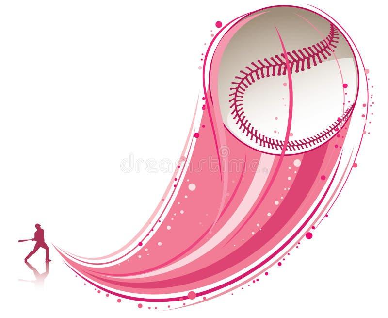 Speel honkbal royalty-vrije illustratie