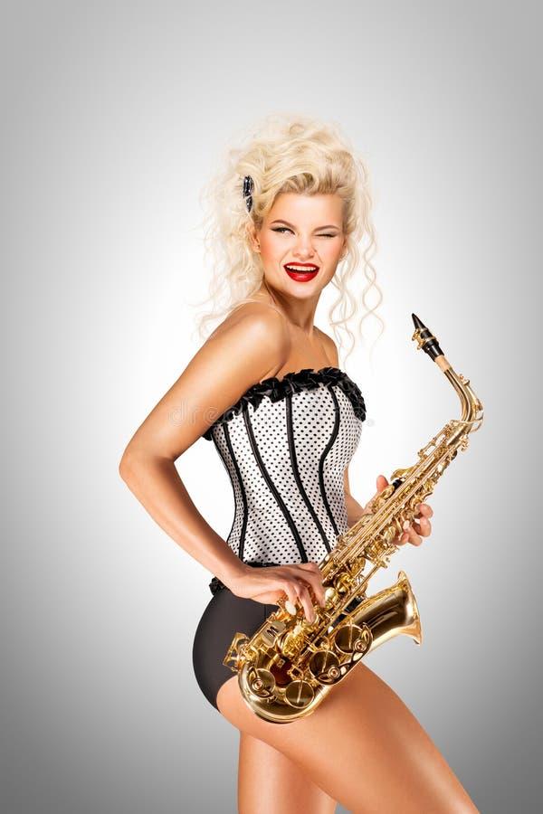 Speel Jazz stock afbeelding