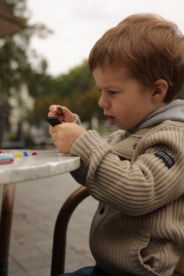 Speel jongen royalty-vrije stock fotografie