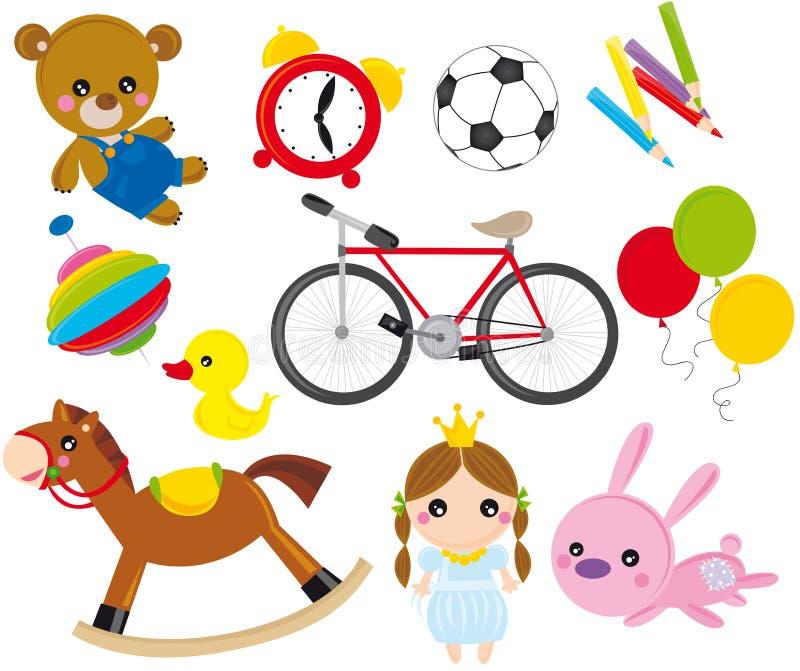 Speelgoed vector illustratie