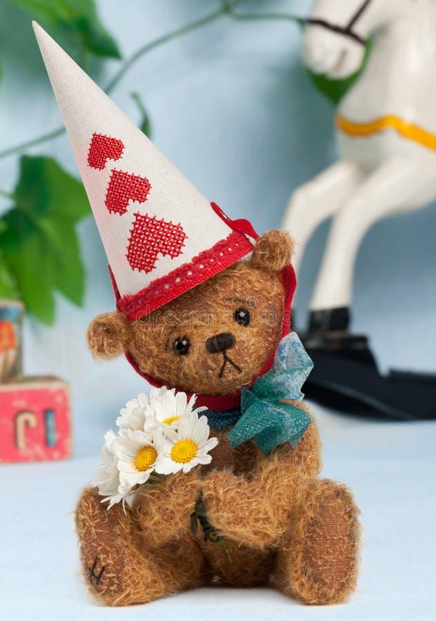 Speelgoed: De Verjaardag van Teddy royalty-vrije stock afbeeldingen