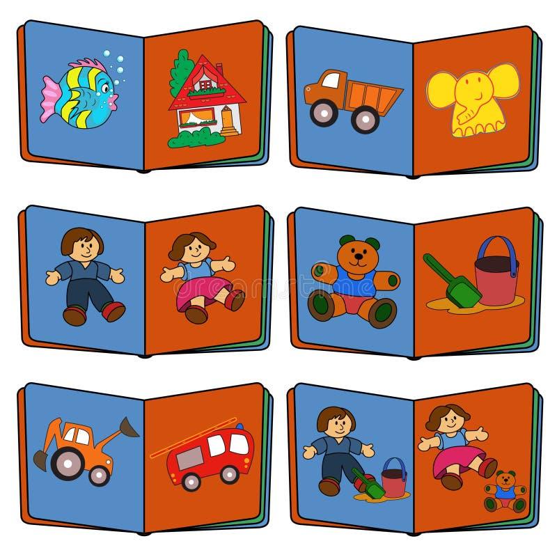 Speelgoed en kinderen royalty-vrije stock foto's