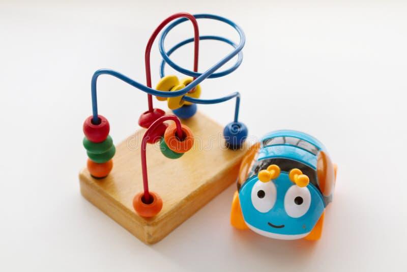 Speelgoed voor de ontwikkeling royalty-vrije stock fotografie