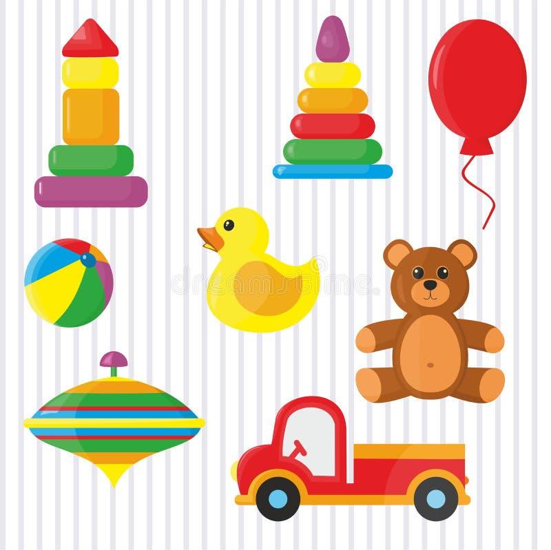 Speelgoed voor Jonge geitjes stock illustratie