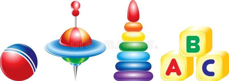 Speelgoed voor kinderen vector illustratie