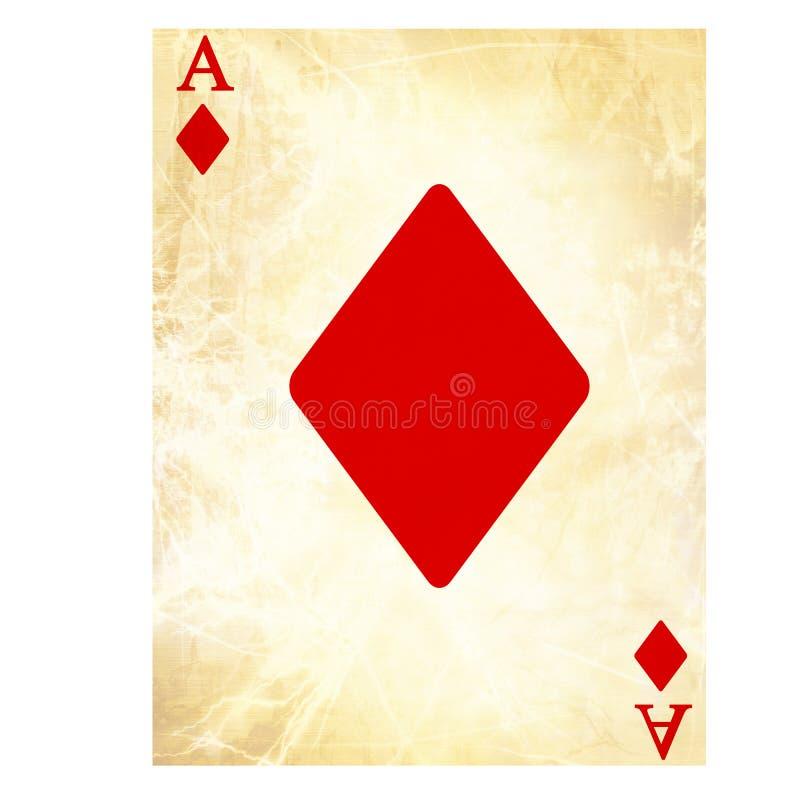 Speelkaart stock illustratie