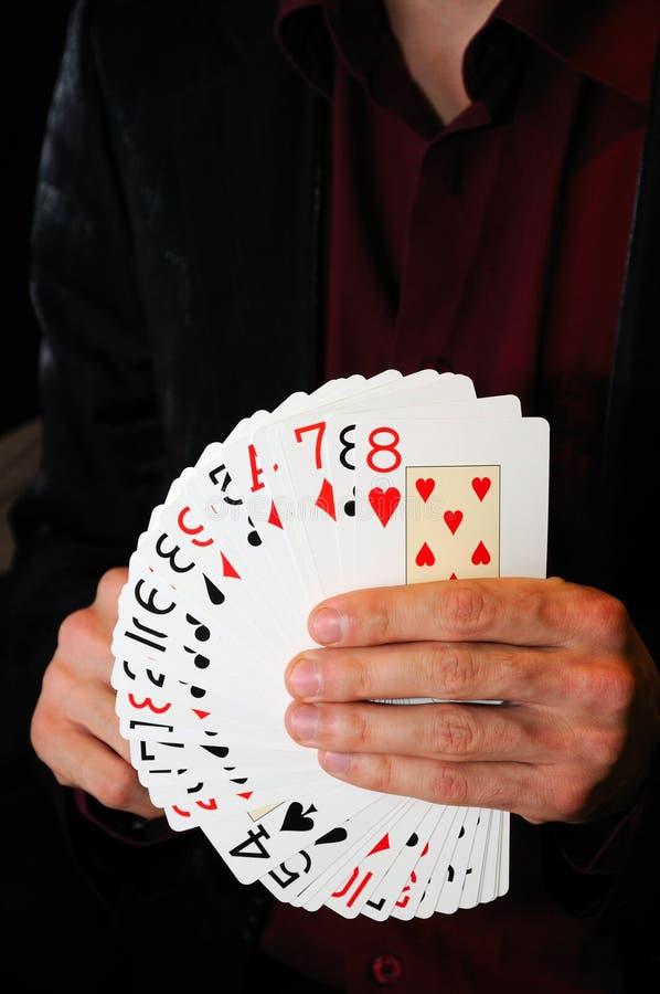 Speelkaarten royalty-vrije stock fotografie