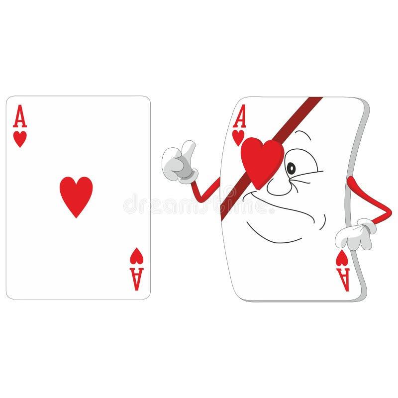 Speelkaartreeks 12 royalty-vrije illustratie