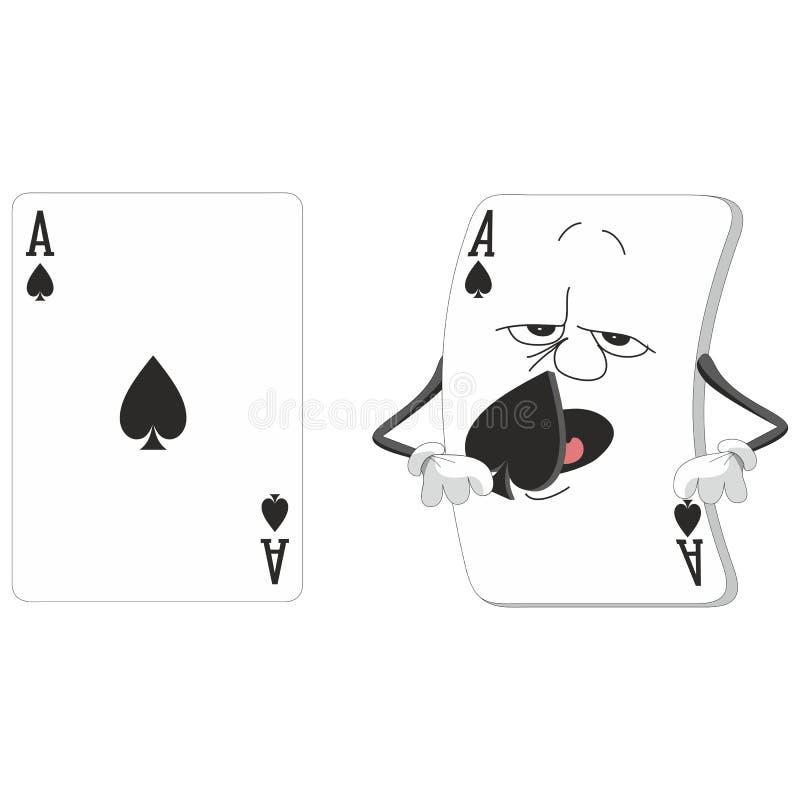 Speelkaartreeks 14 stock illustratie