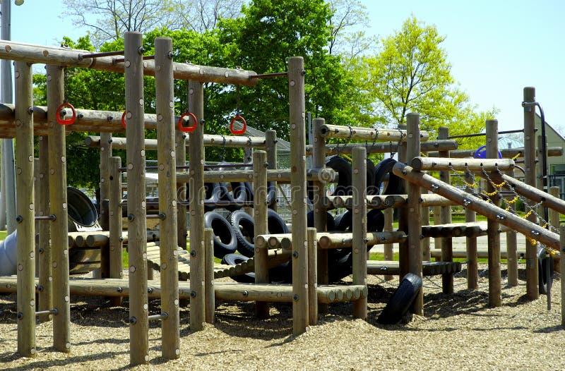 Speelplaats royalty-vrije stock afbeelding