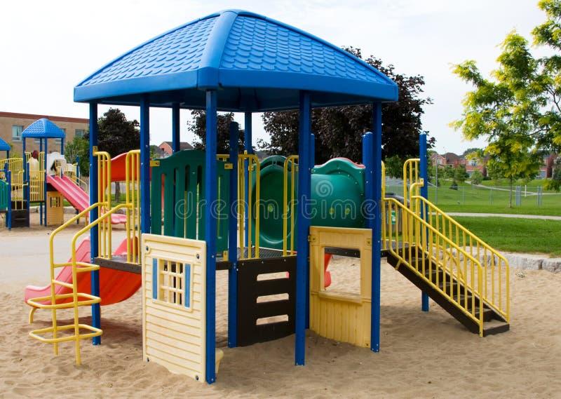 Speelplaats 3 van kinderen royalty-vrije stock afbeelding