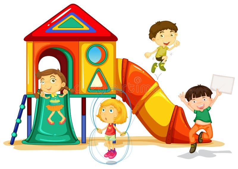 speelplaats royalty-vrije illustratie
