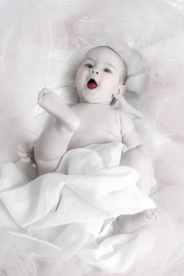Speelse Baby stock foto