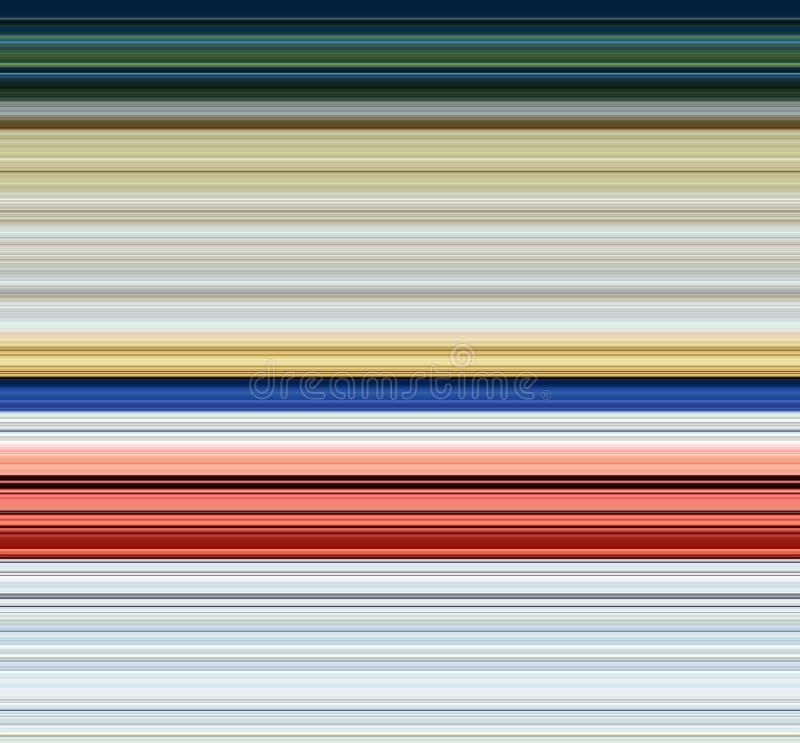 Speelse kleurrijke lijnen in groene grijze rode tinten, abstracte achtergrond vector illustratie