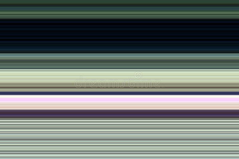 Speelse kleurrijke lijnen in groene roze violette tinten, abstracte achtergrond vector illustratie