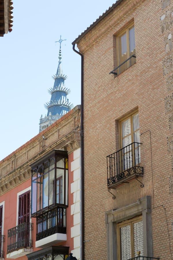 Speer en Toledo foto de archivo libre de regalías