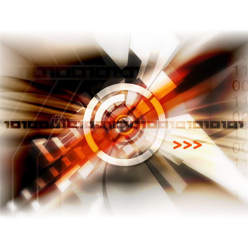 Speerpunttechnologie stock illustratie