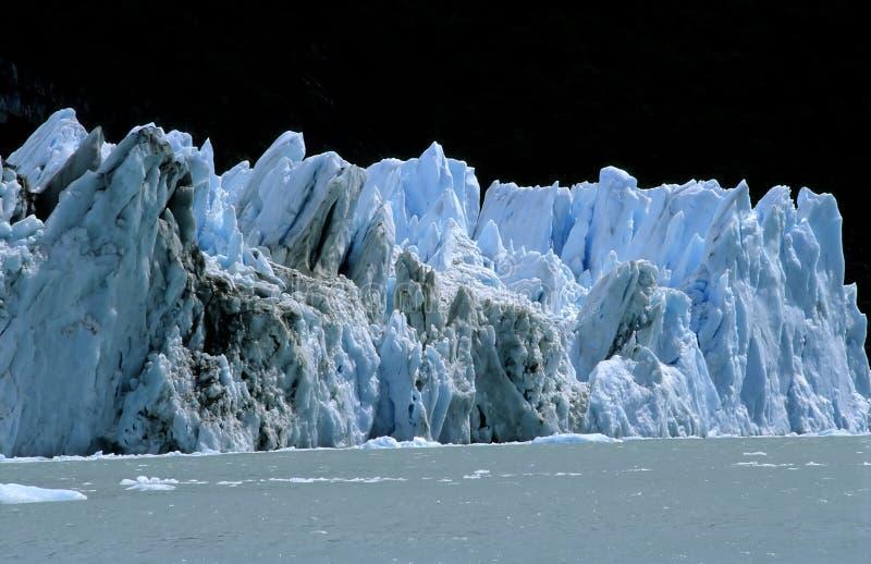 Spegazzini Glaciar, Patagonië, Argentinië royalty-vrije stock foto's
